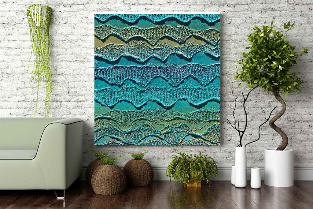 Canvas Print - Kaling Middens