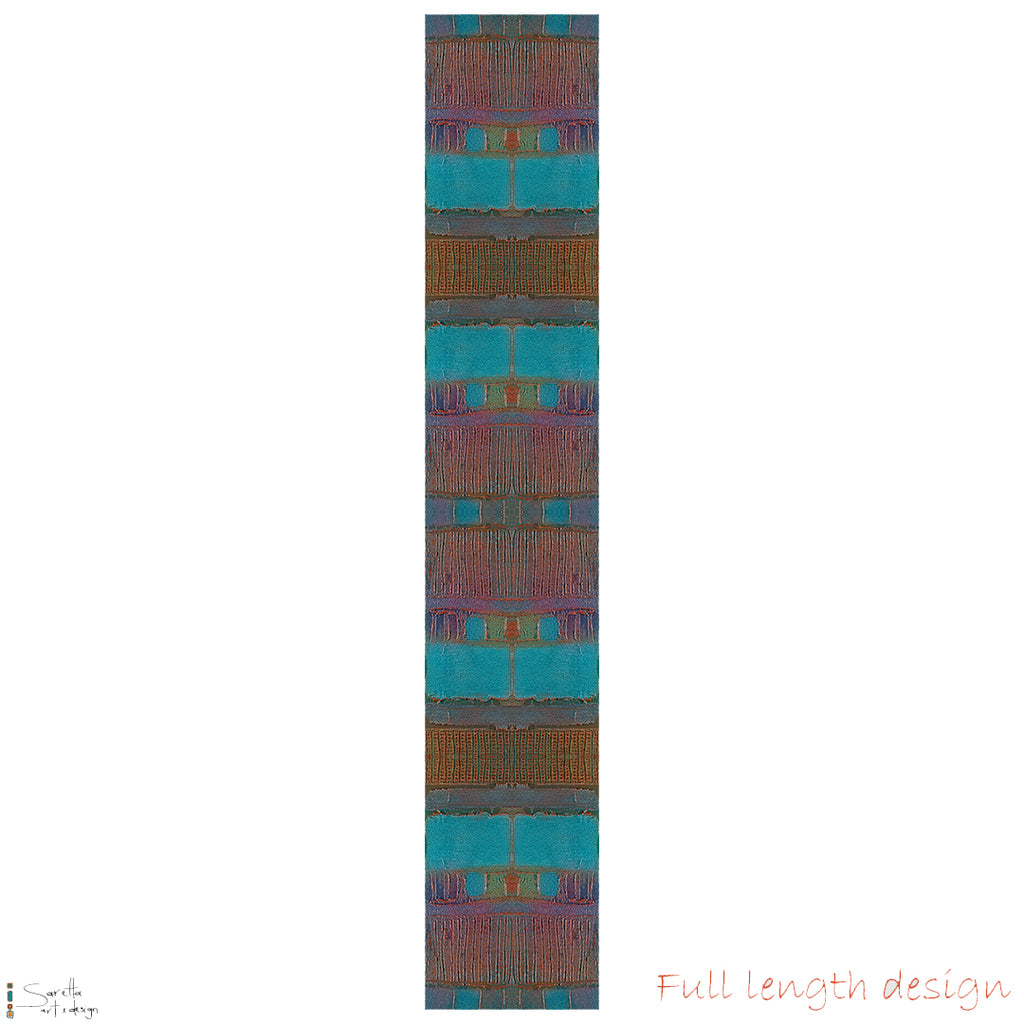 Table/Bed Runner - Muloobinba Borii - Newcastle Songlines