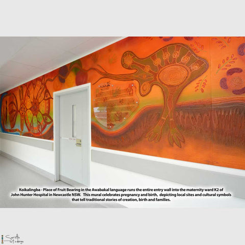 Commission - MURAL Koikalingba - Ward K2 John Hunter Hospital