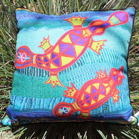 Cushion Cover - Totem Paramaibaan Platypus