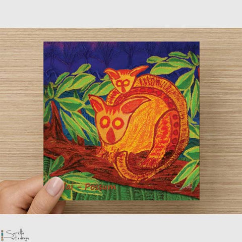 Greeting Card - Wilai Possum