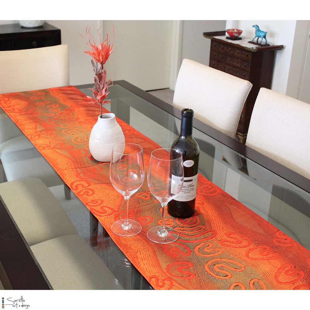 Table/Bed Runner - Yapug - Pathway