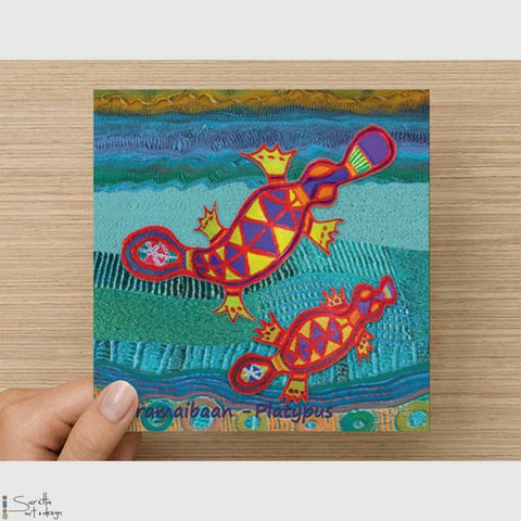Greeting Card - Paramaibaan Platypus