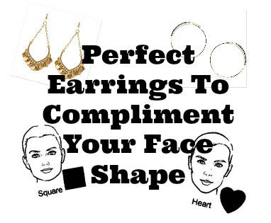 Perfect Earrings To Compliment Your Face Shape