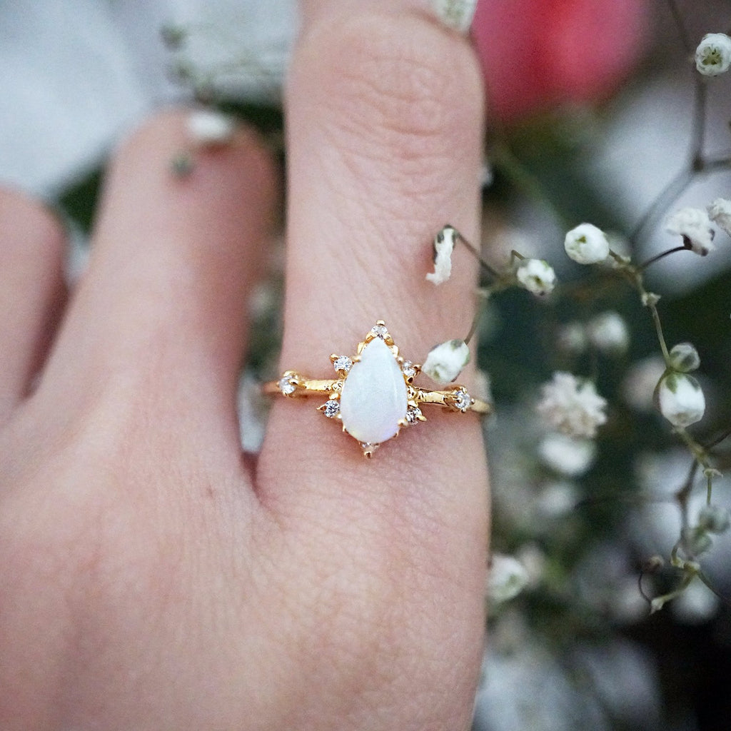 Australian Opal Crush Ring - Melroso
