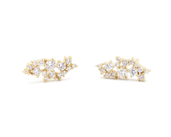 14KT Callisto Stud Earrings - Melroso Jewelry