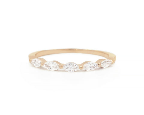 White Diamond Sun King Ring - Melroso