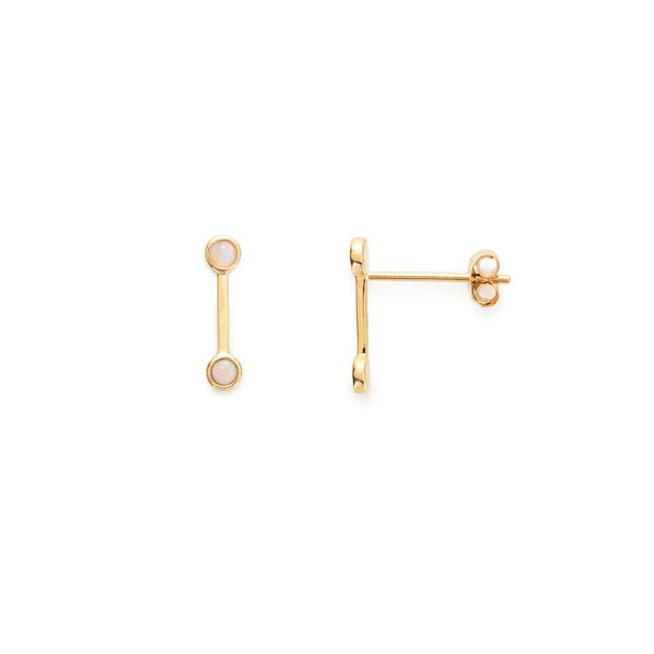 14KT Opal Maggie Studs - Melroso