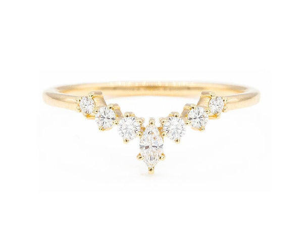14KT Marisol Band - Melroso Jewelry