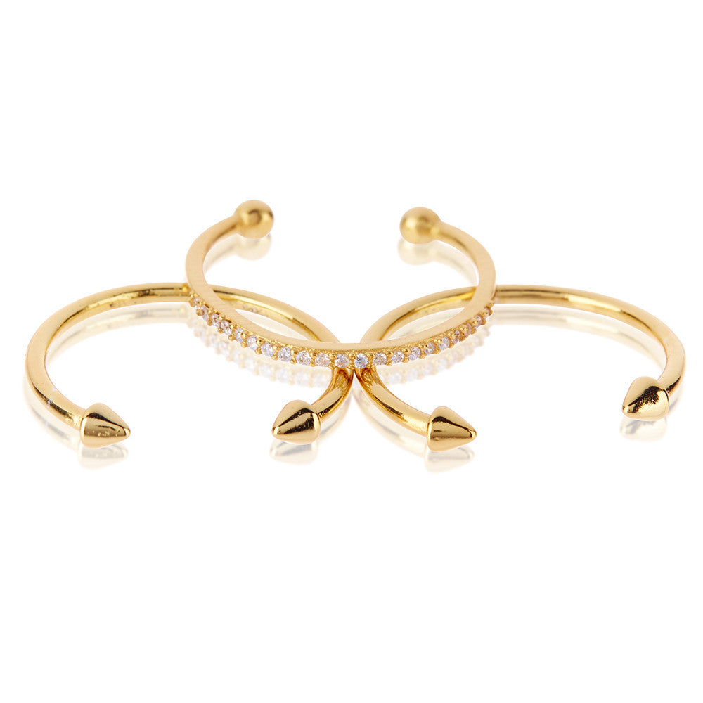 The Barbell Ring Set - Luv Aj - Melroso - 4