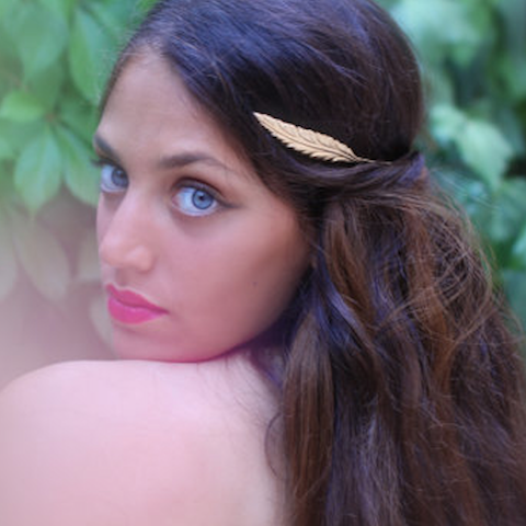 Greek Goddess Leaf Headband - Avigail Adam - Melroso - 1