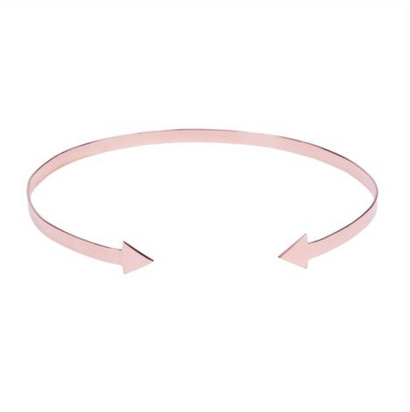 Arrow Choker (Rose Gold) - Melroso Jewelry