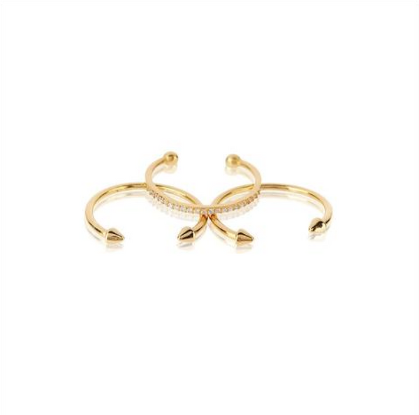 The Barbell Ring Set - Melroso