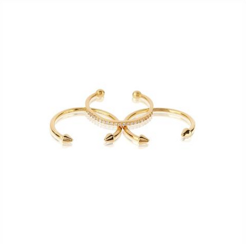 The Barbell Ring Set - Luv Aj - Melroso