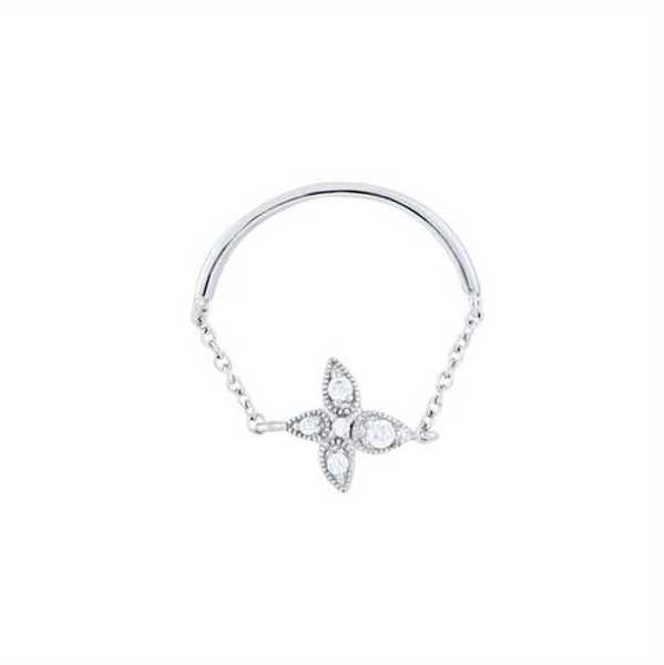 Petite Fleur Ring - Melroso Jewelry
