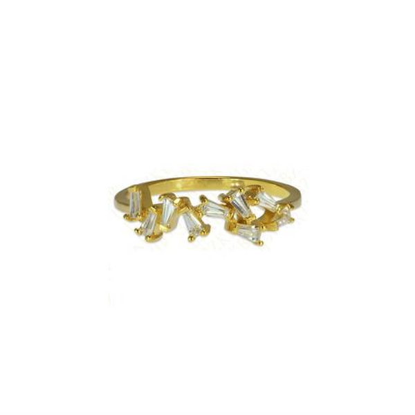 The Baguette Crush Ring