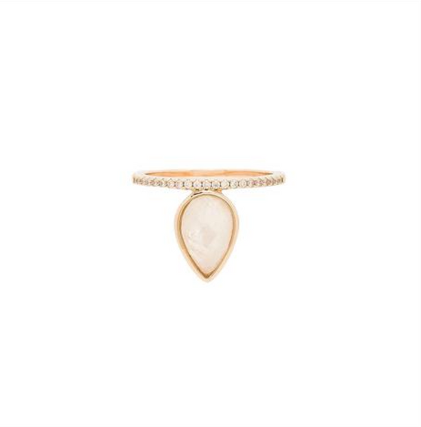 Teardrop Stacking Ring - Melroso Jewelry