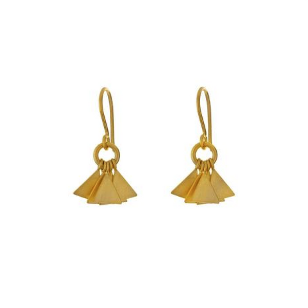 Small Triangle Dangles - Melroso Jewelry