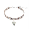 Stone and Bead Choker - Melroso Jewelry
