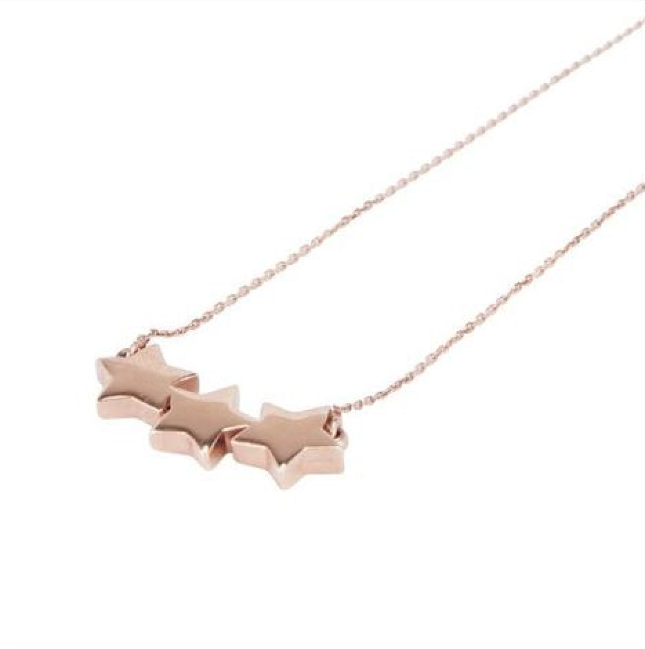 Triple Star Necklace - Melroso