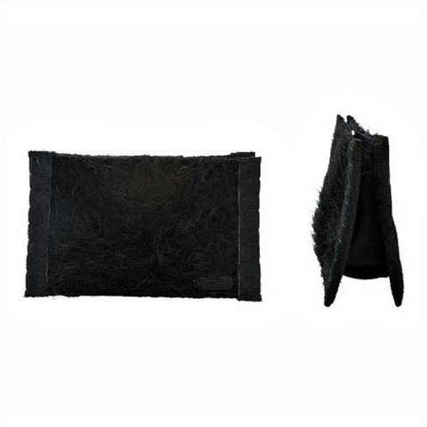 Black Wool Clutch - Dutzi