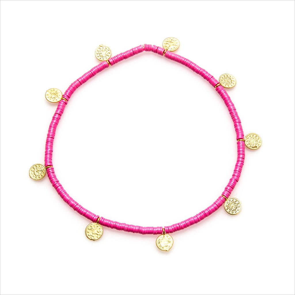 Stereo Love Anklet - Melroso Jewelry
