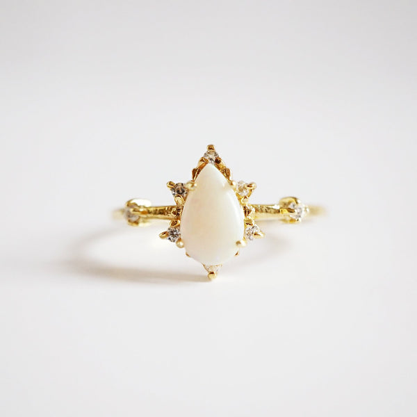 Australian Opal Crush Ring - Melroso Jewelry