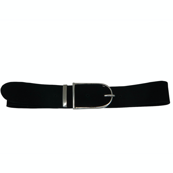 Black Suede Buckle Choker - Melroso