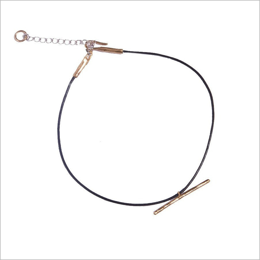 Horizon Leather Choker - Luiny - Melroso - 3