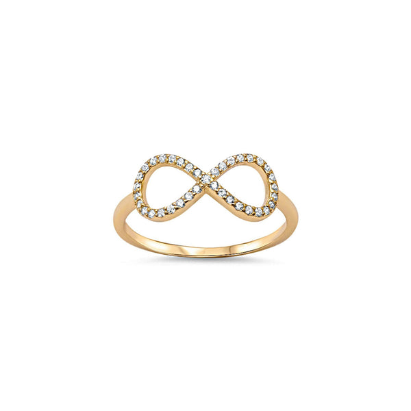 Infinity Ring in Gold - Melroso
