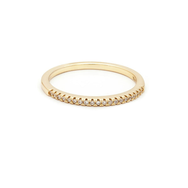 Pave Dainty Band - Melroso Jewelry