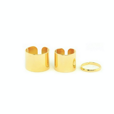 Trio Stack Rings (Gold)
