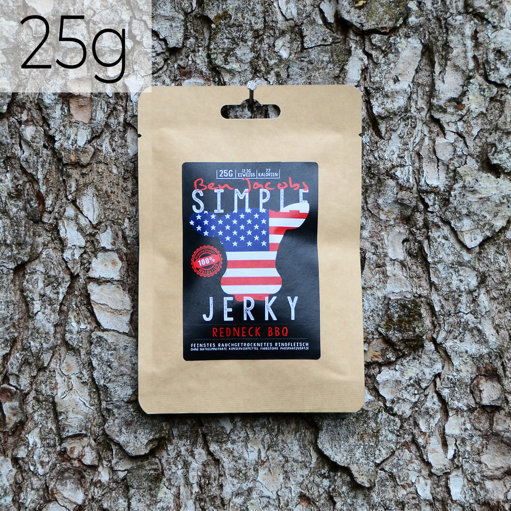 Simple Jerky - Redneck BBQ (25g)