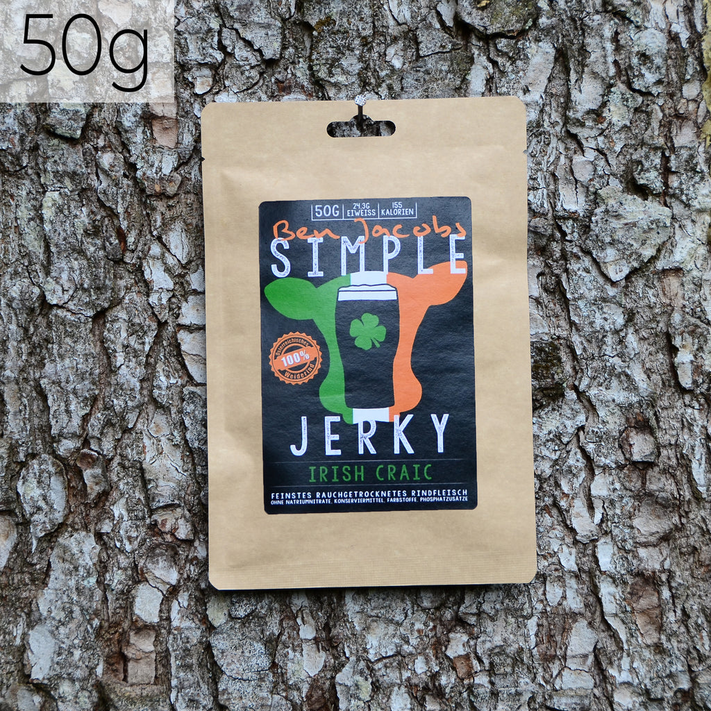 Simple Jerky Mix - Irish Craic (50g)