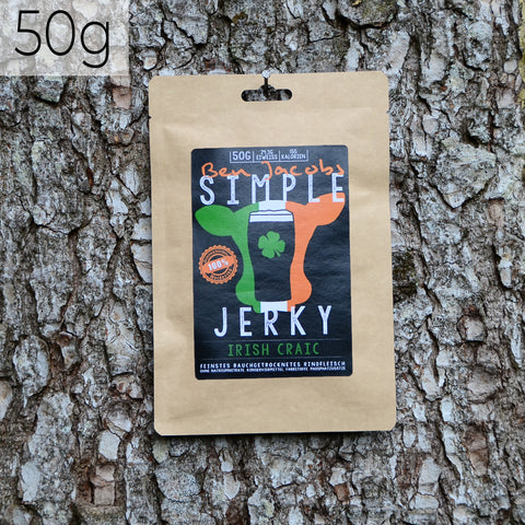 Simple Jerky - Irish Craic (50g)