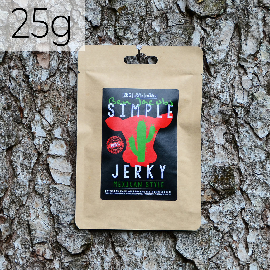 Simple Jerky Mix - Mexican Style (25g)