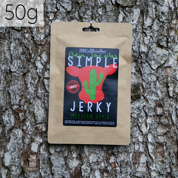 Simple Jerky - Mexican Style (50g)