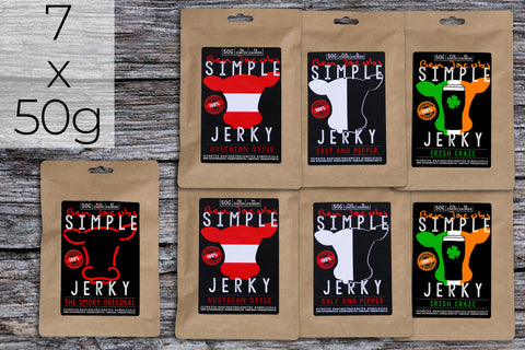 Simple Jerky - Big Mild Box (7 x 50g)