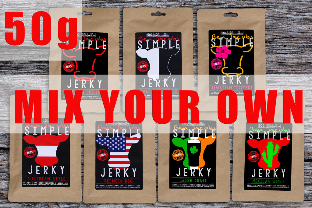 Simple Jerky - Mix Your Own (50g)