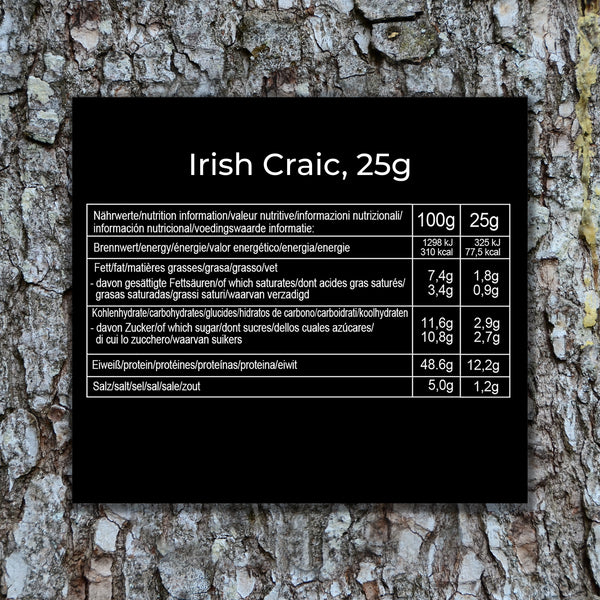Simple Jerky - Irish Craic (25g)