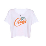 GO CANES - Crop Top