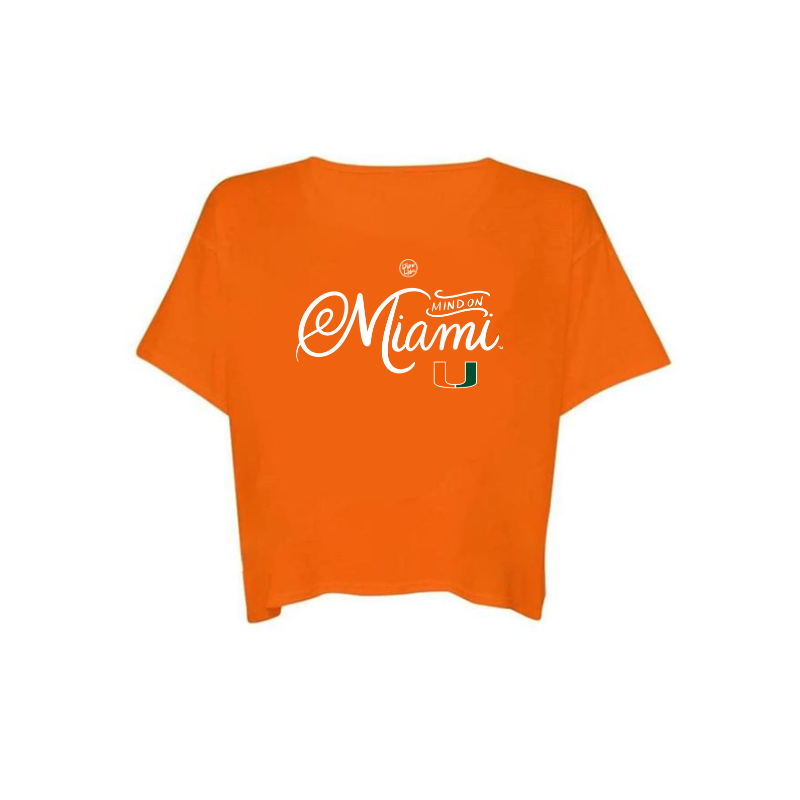 MIAMI ON MY MIND - Crop Top