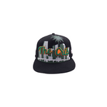 The Crib Snapback Black