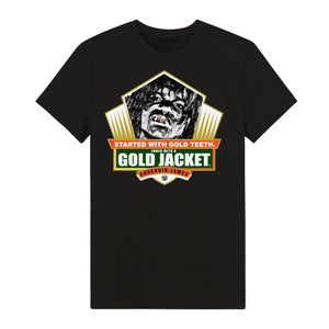 Load image into Gallery viewer, GOLD TEETH TO GOLD JACKET - Tshirt