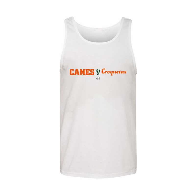 Load image into Gallery viewer, Canes y Croquetas Men's Tank