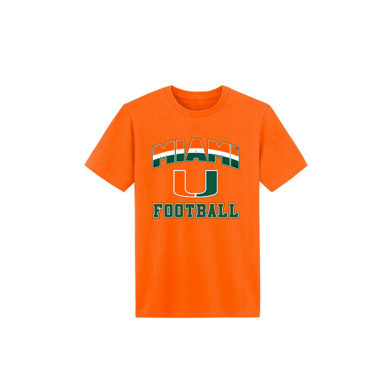 Load image into Gallery viewer, MIAMI U FOOTBALL - Youth Tshirt