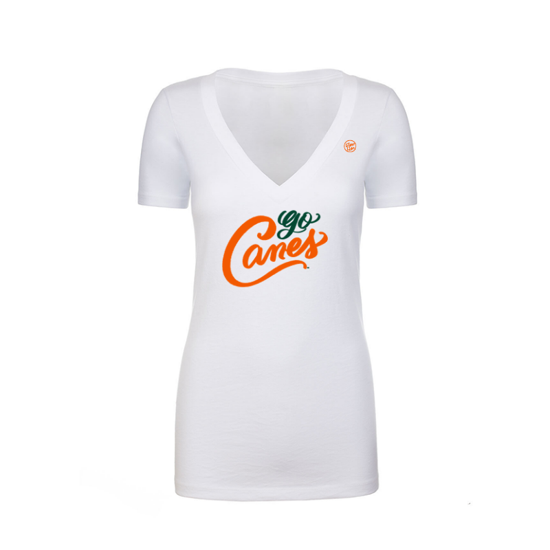 Load image into Gallery viewer, GO CANES - Women's Vneck