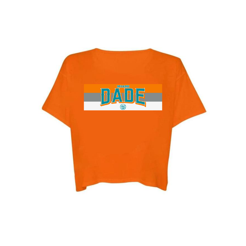 DADE FINS - Crop Top