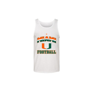 Load image into Gallery viewer, MIAMI U FOOTBALL - Youth Tank