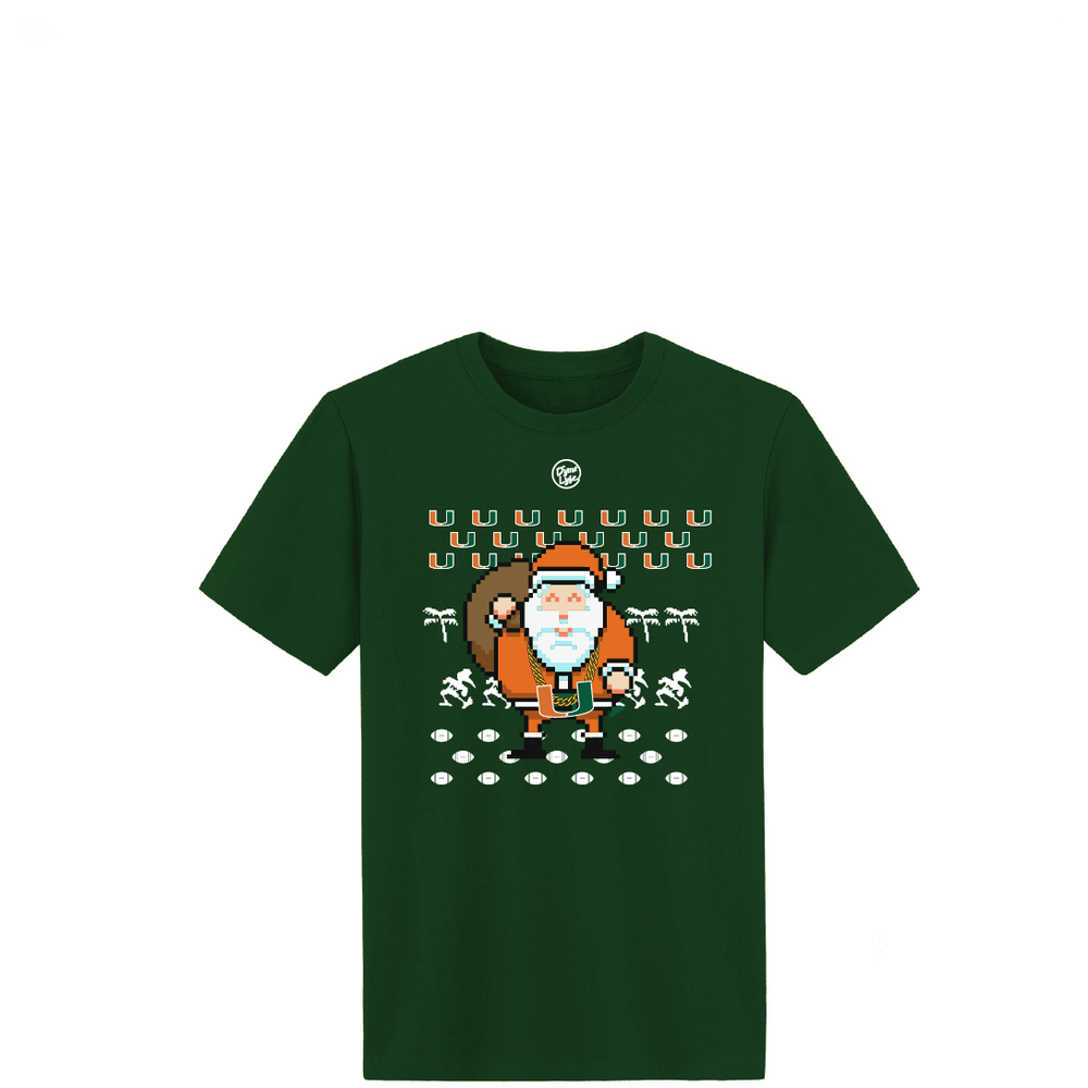 TURNOVER CHAIN SANTA YOUTH TEE